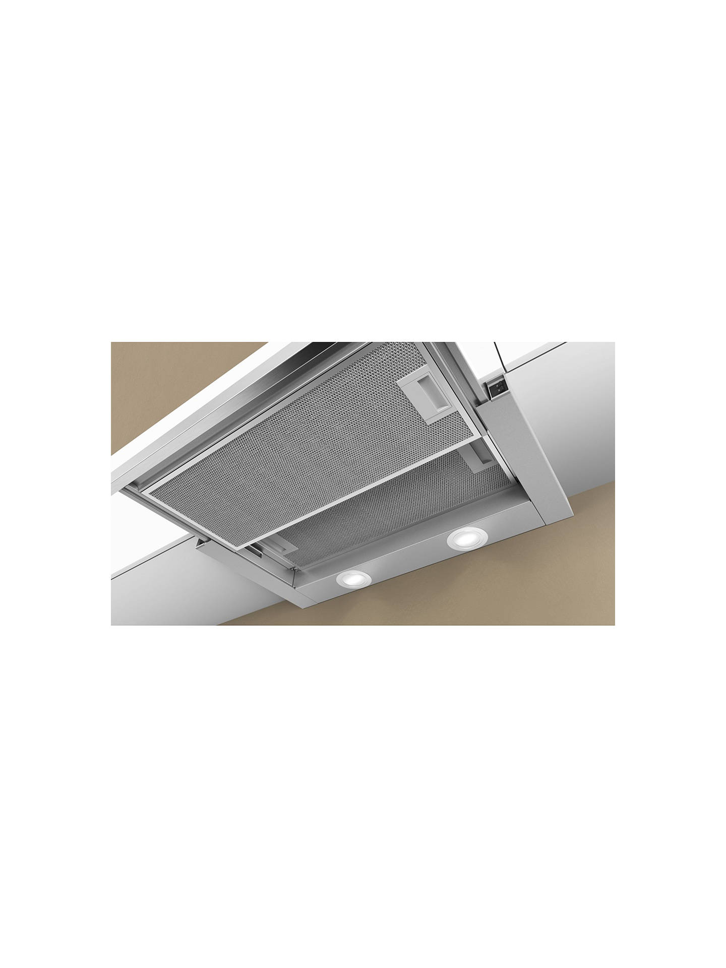 BuyNeff D46BR22N0B Integrated Cooker Hood, Silver Online at johnlewis.com