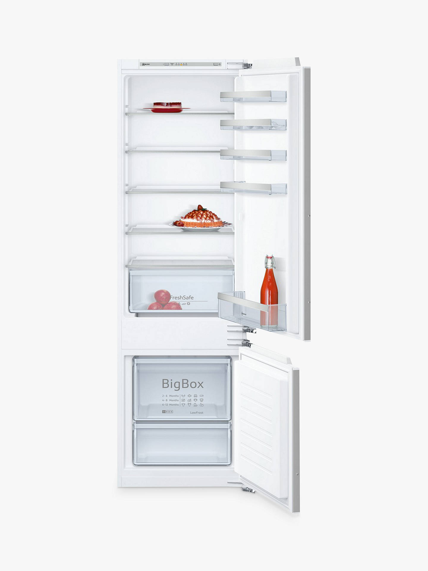 BuyNeff KI5872F30G Integrated Fridge Freezer, A++Energy Rating, 56cm Wide Online at johnlewis.com
