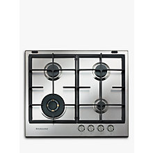 Buy KitchenAid KHMD460510 Gas Hob Online at johnlewis.com