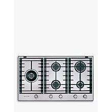 Buy KitchenAid KHMP586510 Gas Hob Online at johnlewis.com