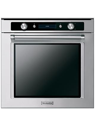 KitchenAid KOHSS60601 Built-In Multifunction Single Oven, Stainless Steel