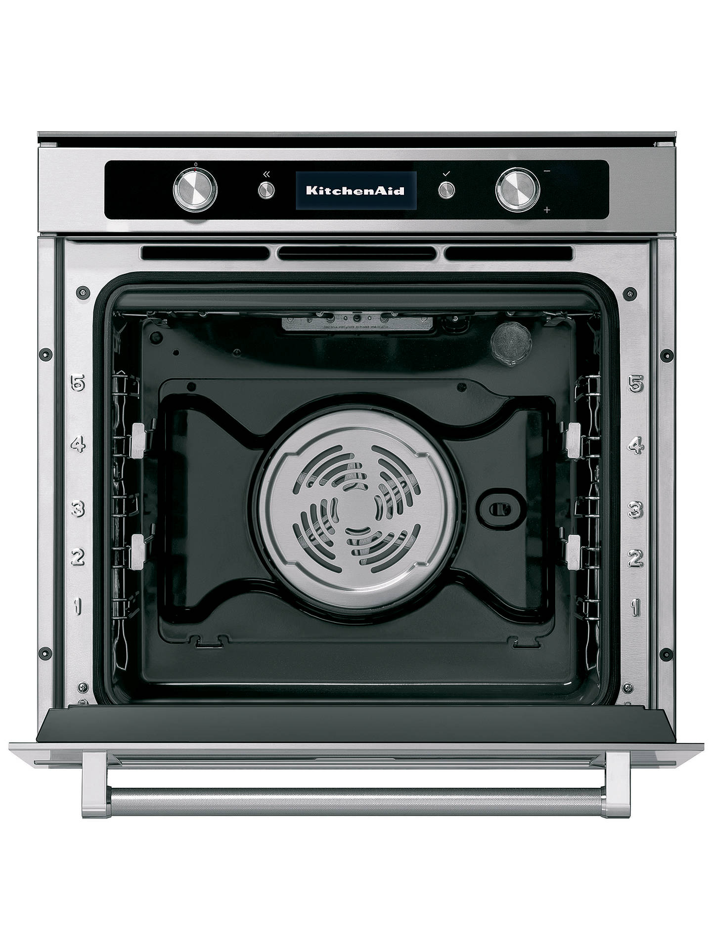 BuyKitchenAid KOLSS Built-In Single Electric Oven, Stainless Steel Online at johnlewis.com