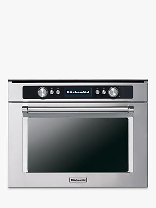 KitchenAid KMQCX45600 Built-in Multifunction Microwave Oven, Stainless Steel