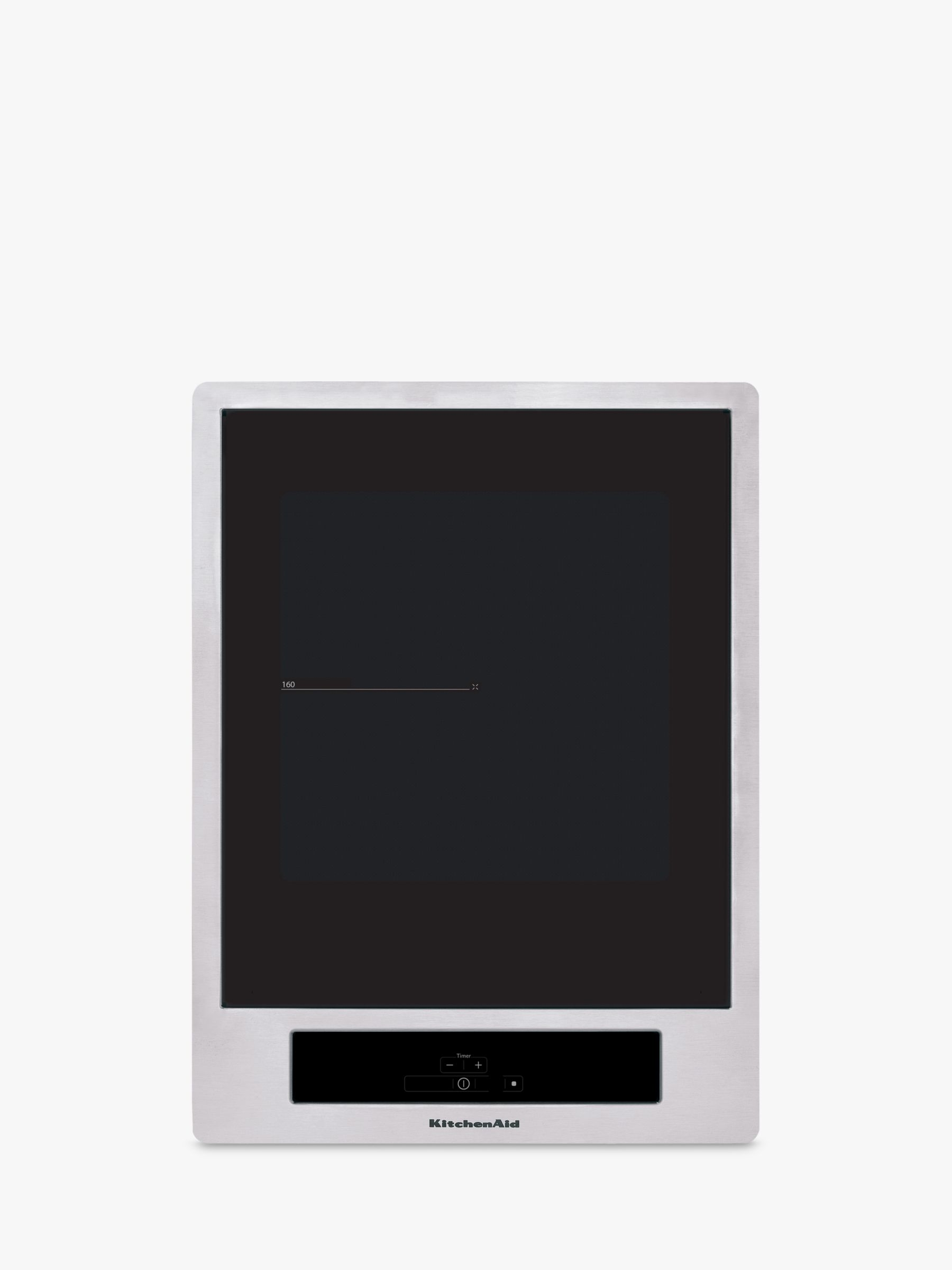 KitchenAid KitchenAid KHYD2 Integrated Induction Hob, Black