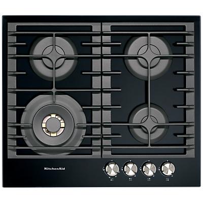 KitchenAid KHGD4 Integrated Gas Hob, Black