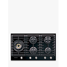 Buy Kitchenaid KHGD5 Integrated Gas Hob, Black Online at johnlewis.com