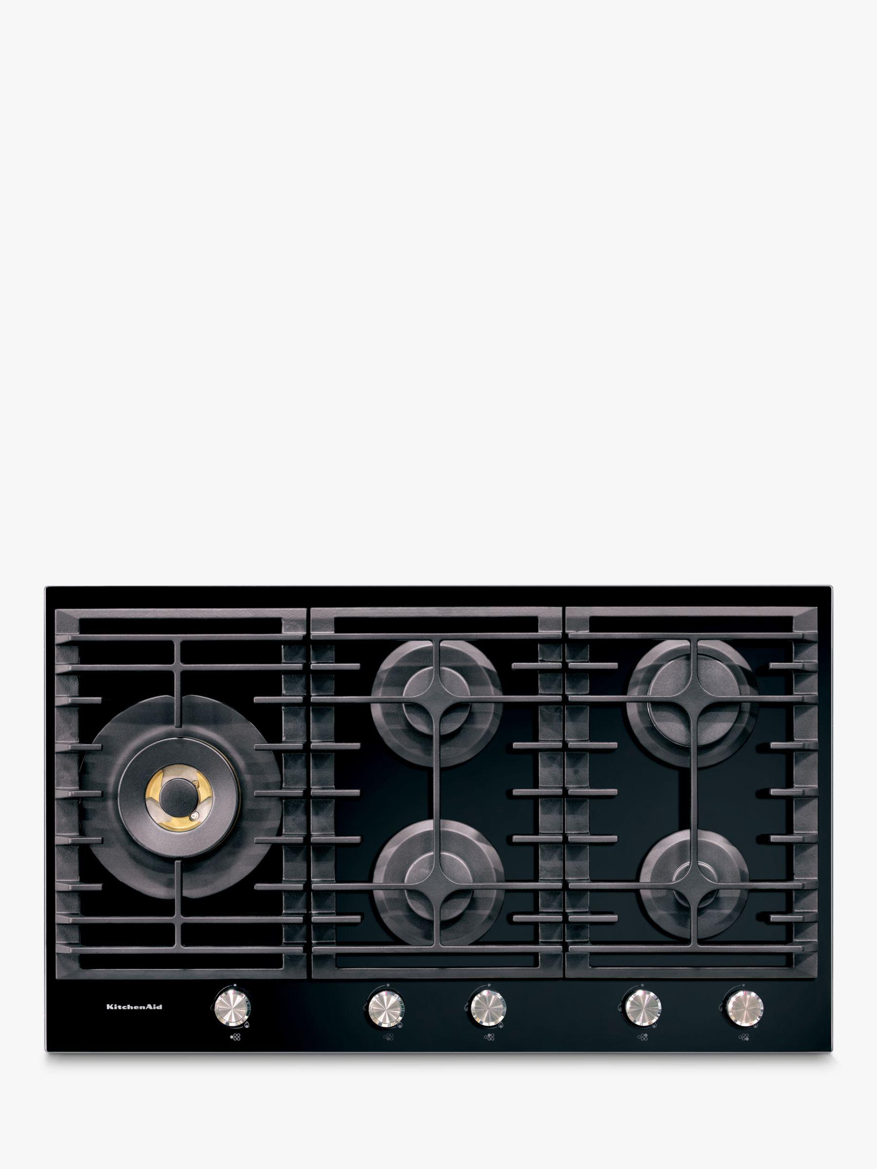 KitchenAid Kitchenaid KHGD5 Integrated Gas Hob, Black