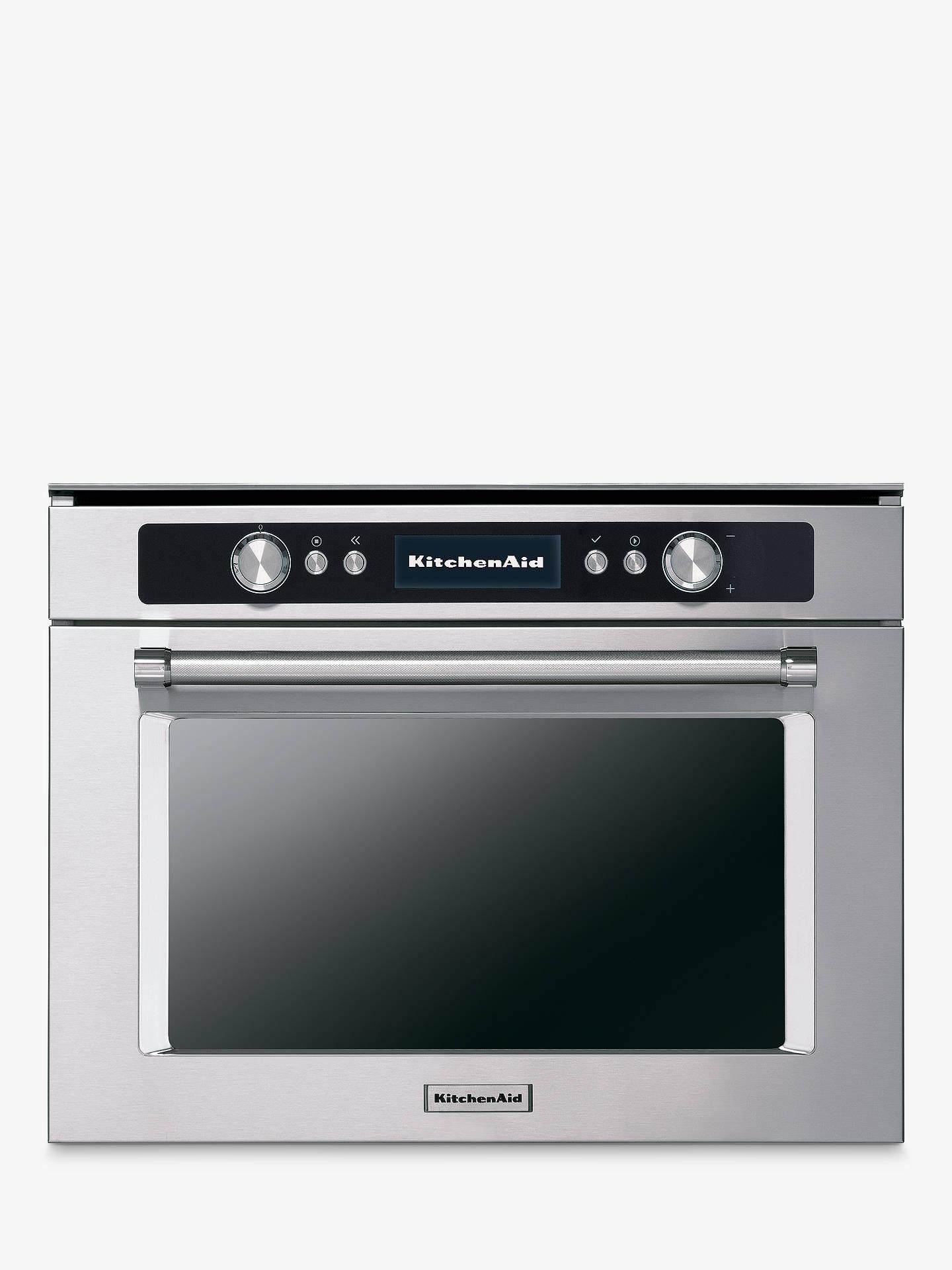 KitchenAid KOCCX45600 Built-In Multifunction Single Oven, Stainless Steel