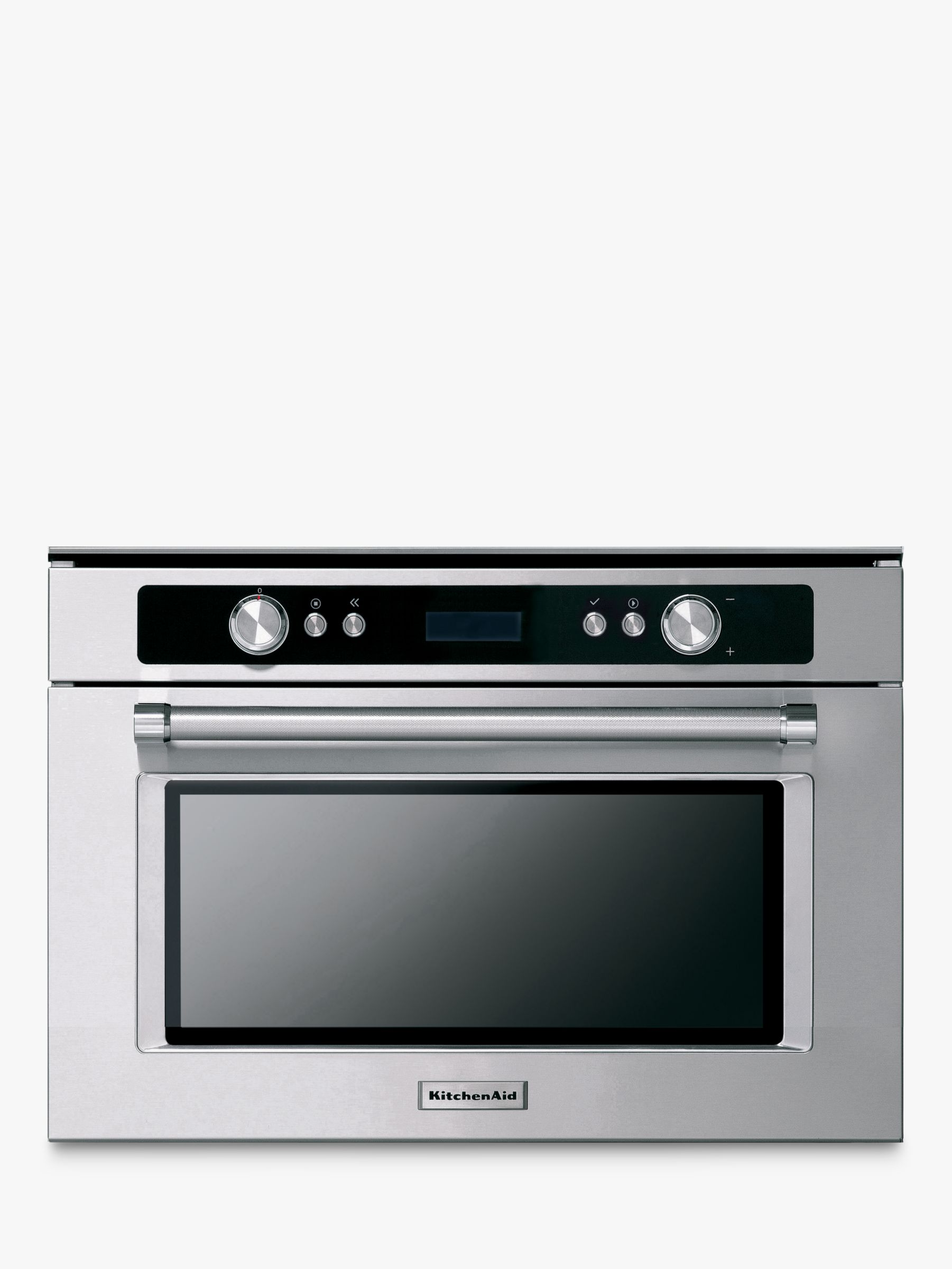 KitchenAid KMQCX38600 Built-In Multifunction Microwave Oven, Stainless Steel