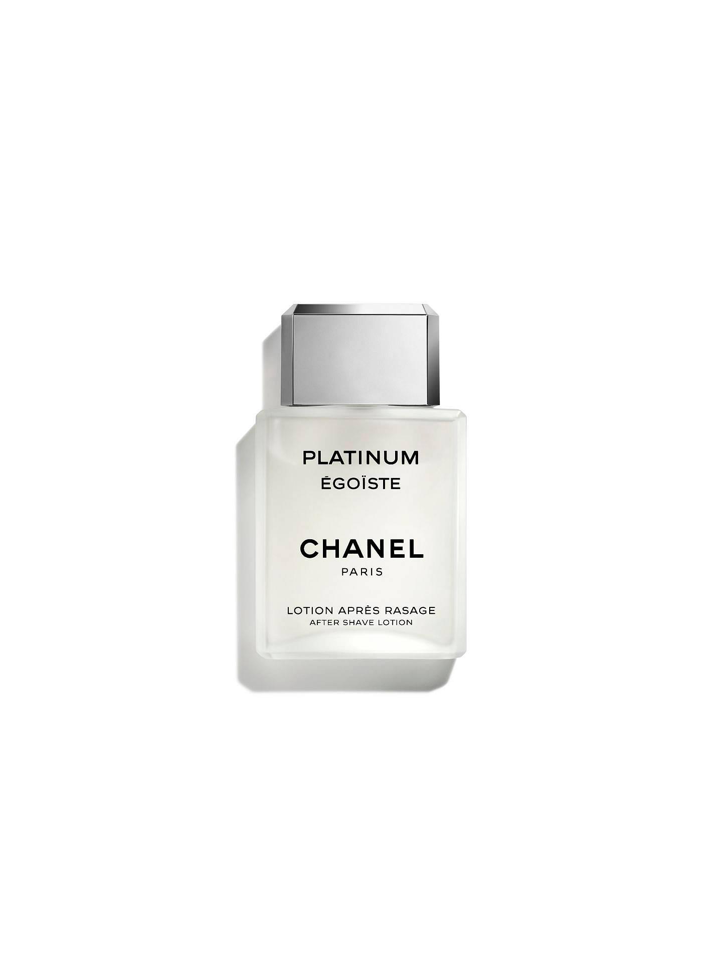 efe99fe775 CHANEL PLATINUM ÉGOÏSTE After Shave Lotion