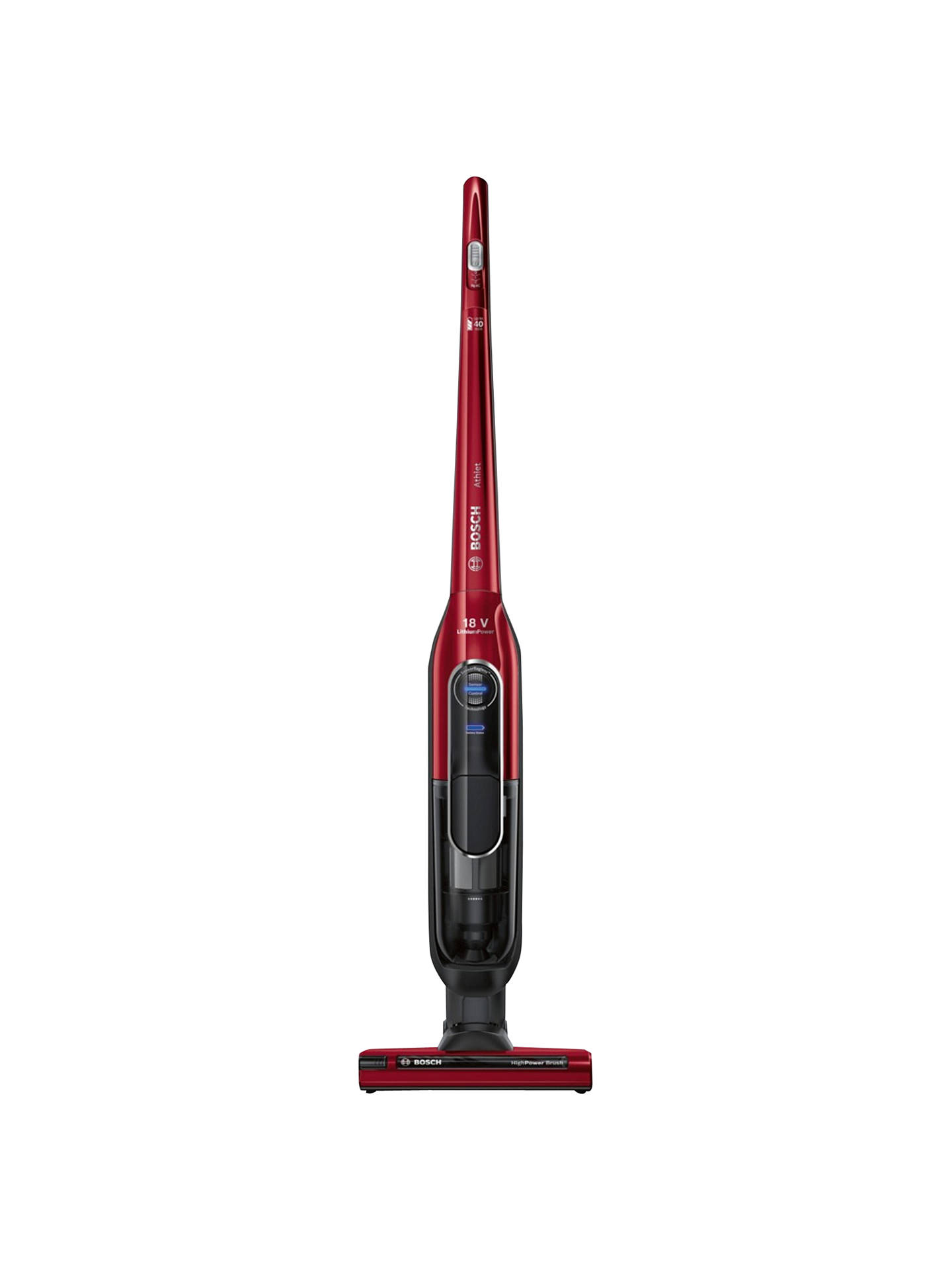 Bosch Athlet Bch6re8kgb 40 Minute Runtime Cordless Upright