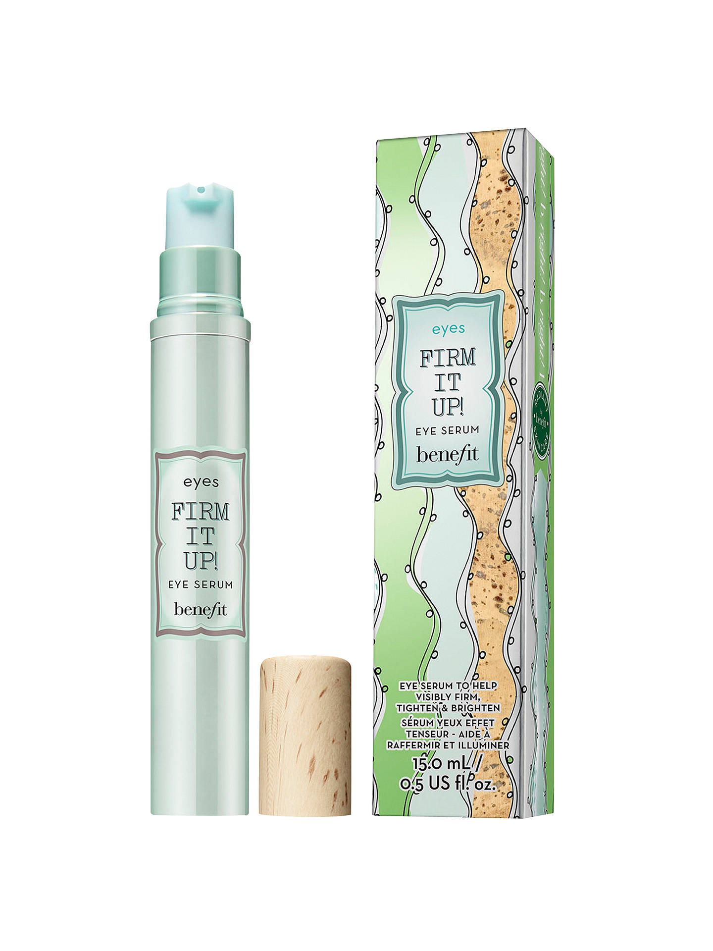 BuyBenefit Firm It Up! Eye Serum, 15ml Online at johnlewis.com
