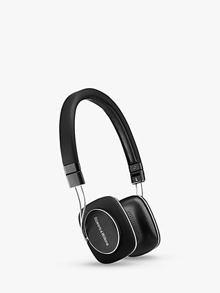 Bowers & Wilkins P3 Series 2 On-Ear Headphones, Black
