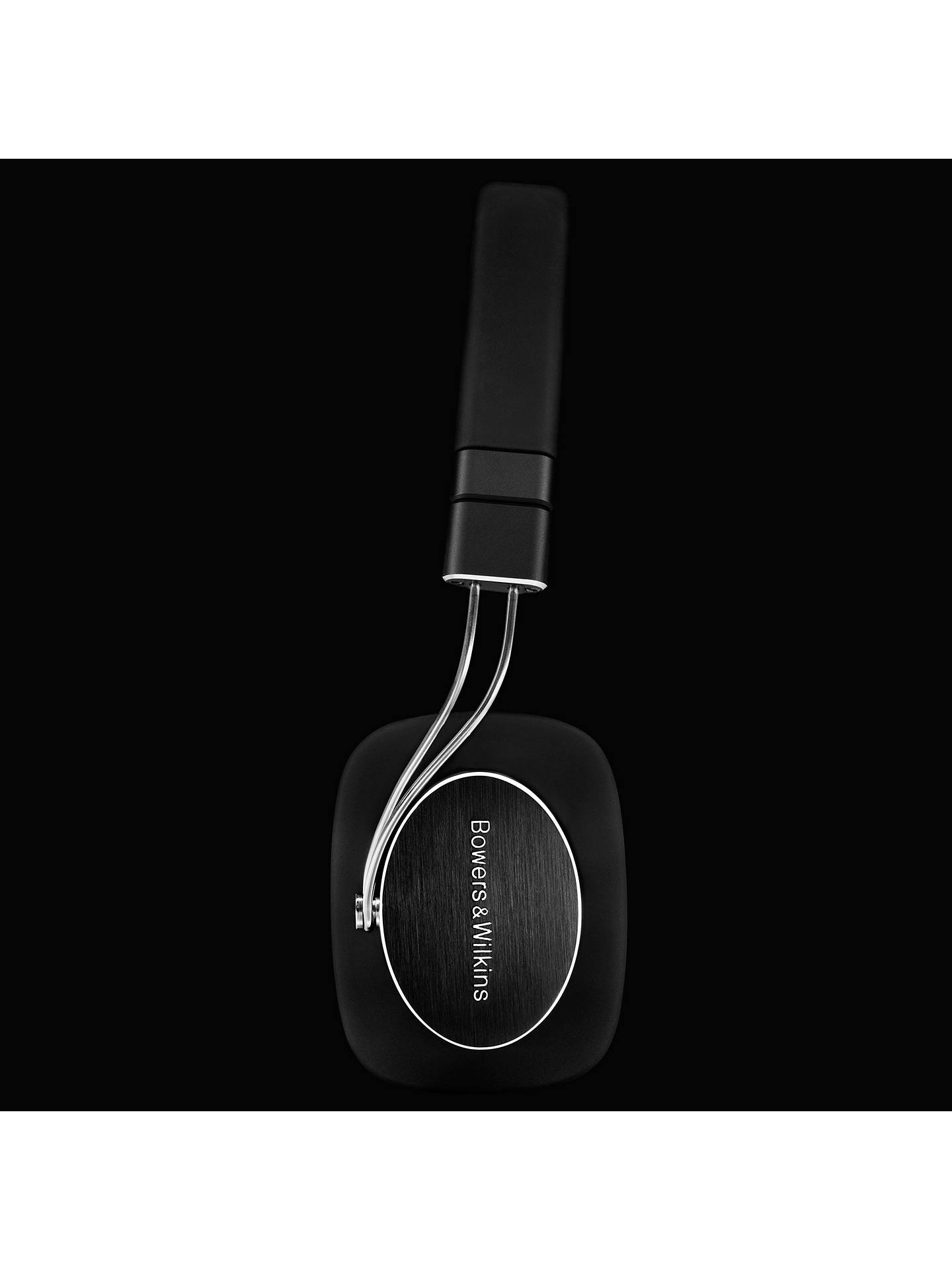 BuyBowers & Wilkins P3 Series 2 On-Ear Headphones, Black Online at johnlewis.com