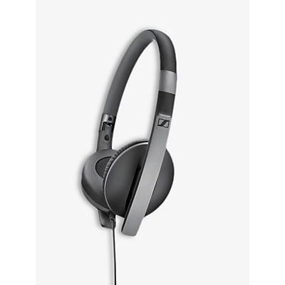 Image of Sennheiser HD 2.30i On-Ear Stereo Straight Jack Headphones, Black