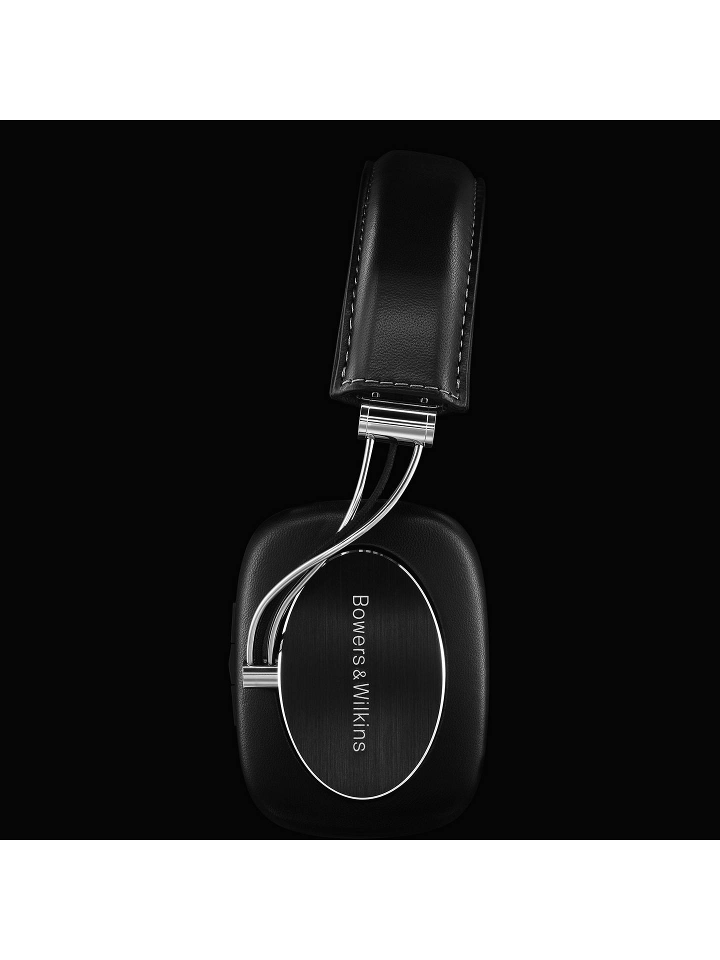 Buy Bowers & Wilkins P7 Wireless Over Ear Headphones with Mic/Remote, Black Online at johnlewis.com