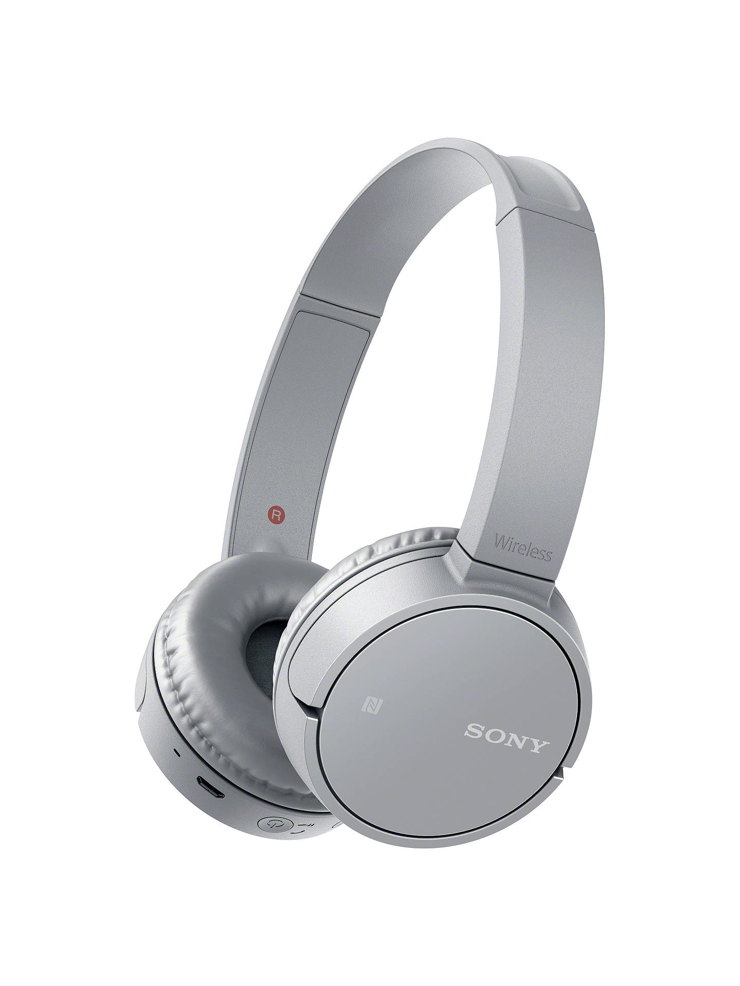 BuySony MDR-ZX220BT Bluetooth On-Ear Headphones with Mic/Remote, Grey Online at johnlewis.com