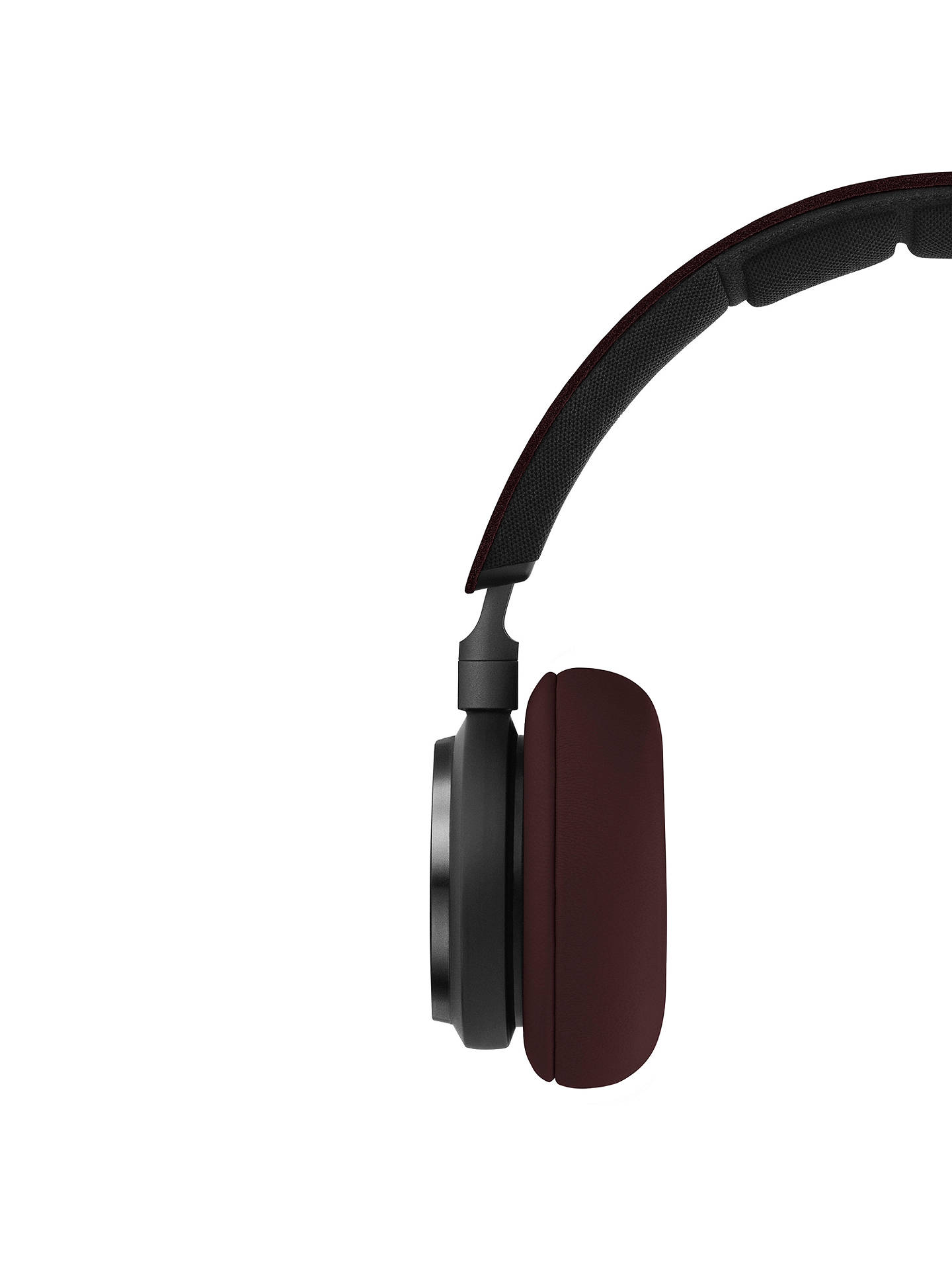 BuyB&O PLAY by Bang & Olufsen Beoplay H8 Wireless Bluetooth Active Noise Cancelling On-Ear Headphones with Intuitive Touch Controls, Deep Red Online at johnlewis.com