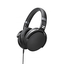 Buy Sennheiser HD 4.30i Over-Ear Headphones with Inline Microphone & Remote for iOS Devices, Black Online at johnlewis.com