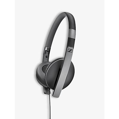 Image of Sennheiser HD 2.30G On-Ear Stereo L-Shape Jack Headphones, Black