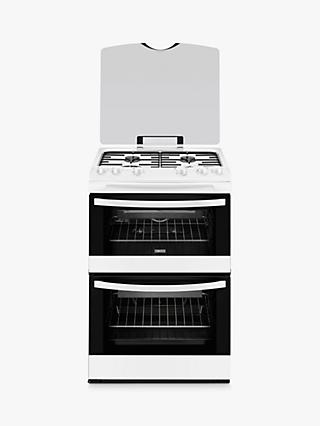 Zanussi ZCG63010WA Gas Cooker, White