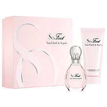Buy Van Cleef & Arpels So First 50ml Eau de Parfum Fragrance Gift Set Online at johnlewis.com