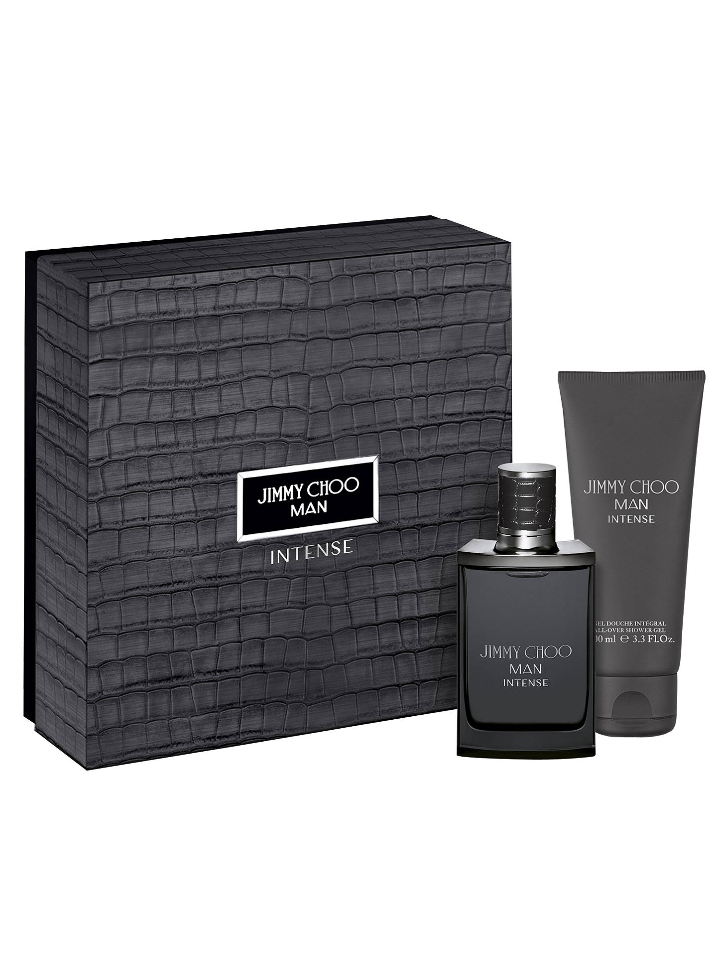 58c0bb7cd4a7 Buy Jimmy Choo MAN Intense 50ml Eau de Toilette Fragrance Gift Set Online  at johnlewis.