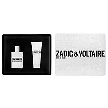 Buy Zadig & Voltaire This Is Her! 50ml Eau de Parfum Fragrance Gift Set Online at johnlewis.com