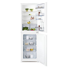 Buy AEG SCS51810S1 Integrated Fridge Freezer, A+ Energy Rating, 56cm Wide Online at johnlewis.com