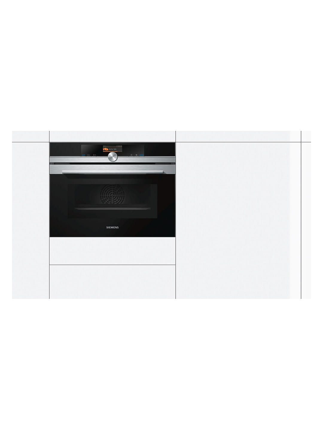 Buy Siemens CM676GBS6B Built-in Microwave Oven with Home Connect, Stainless Steel Online at johnlewis.com