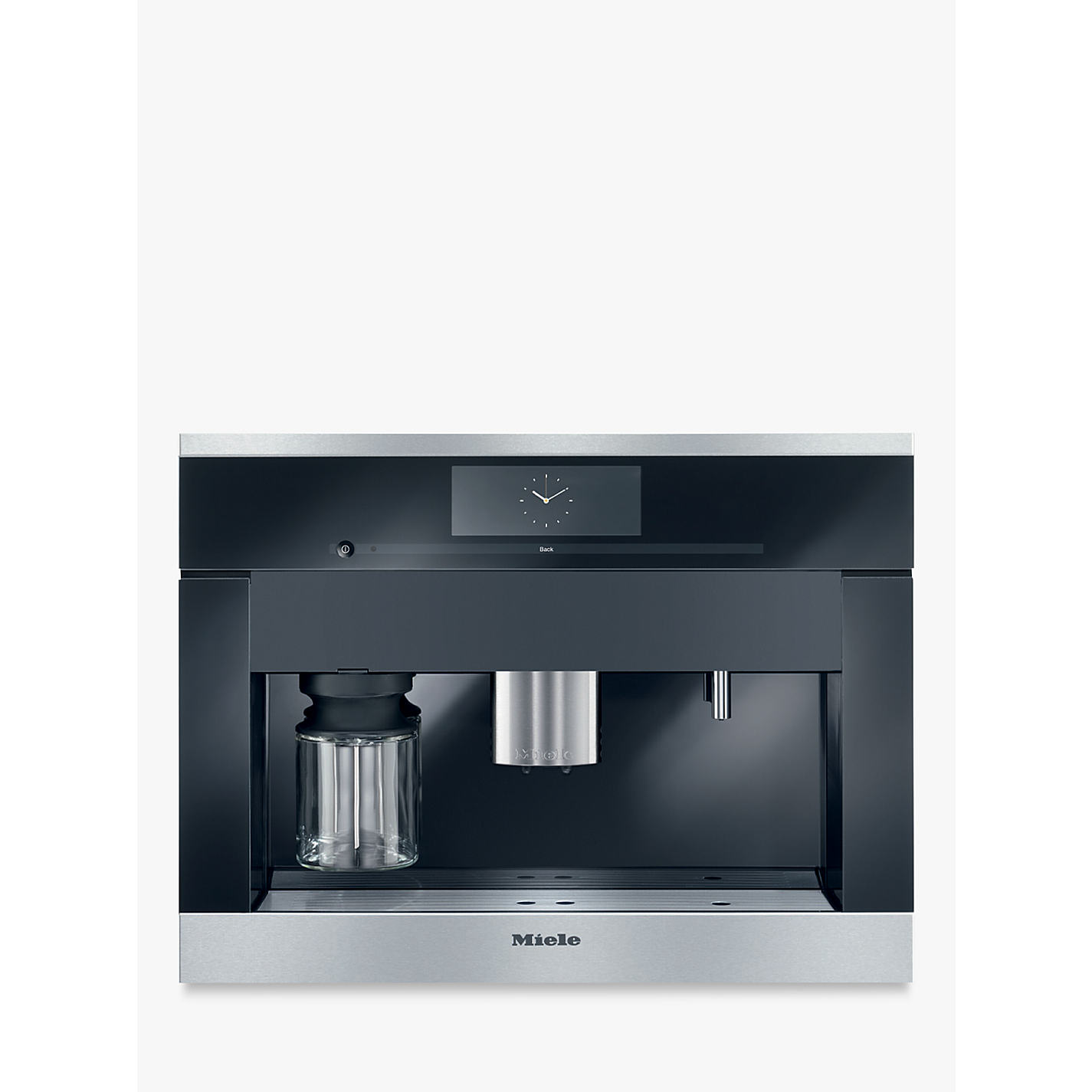Buy Miele CVA6405 Built In Bean to Cup Coffee Machine Online at  johnlewis.com ...