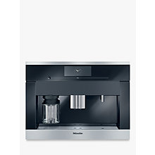 Buy Miele CVA6405 Built In Bean to Cup Coffee Machine Online at johnlewis.com