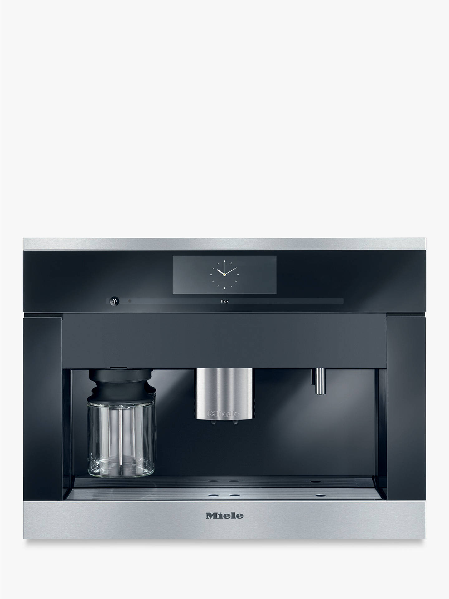 Miele Cva6405 Built In Bean To Cup Coffee Machine Online At Johnlewis