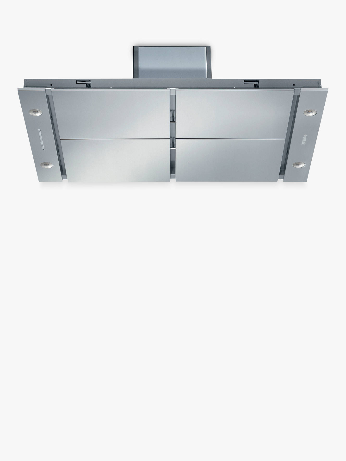 BuyMiele DA2906 Integrated Cooker Hood, Stainless Steel Online at johnlewis.com