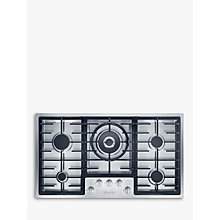 Buy Miele KM2354 Integrated Gas Hob, Stainless Steel Online at johnlewis.com