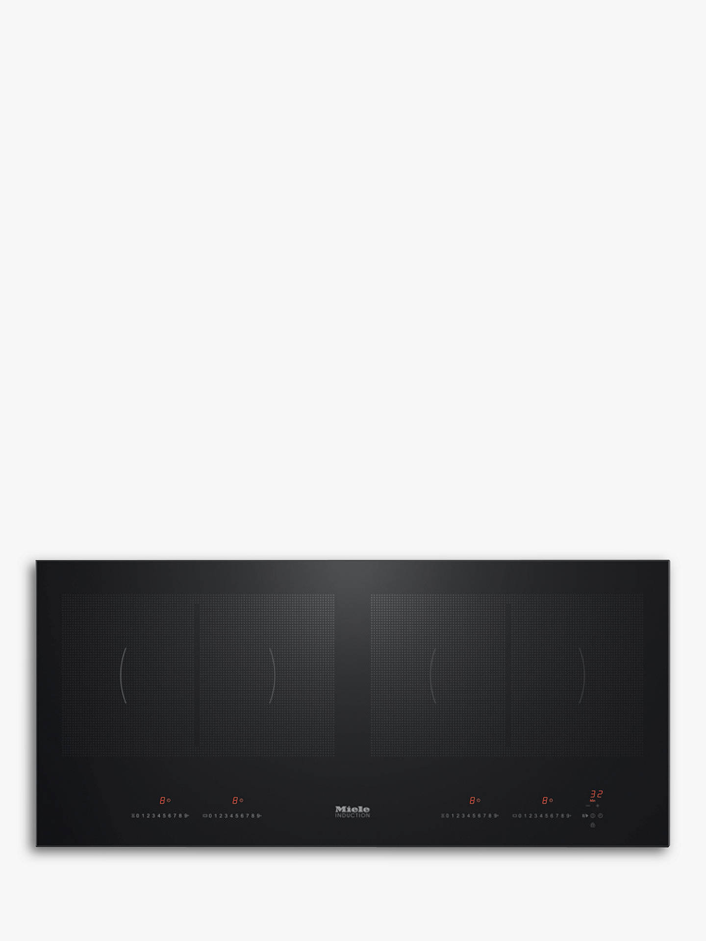 Buy Miele KM6381 Integrated Induction Hob Online at johnlewis.com