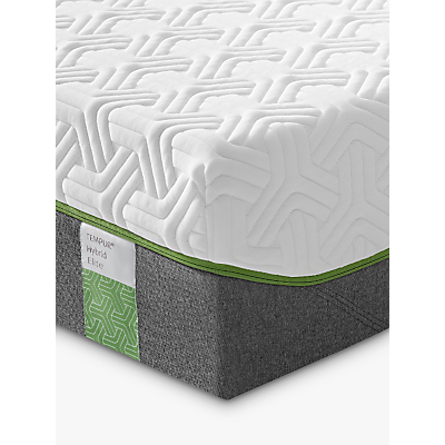 Tempur Hybrid Elite 25 Pocket Spring Memory Foam Mattress, Medium, Single