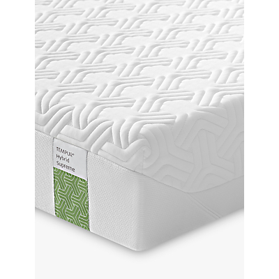 Tempur Hybrid Supreme Pocket Spring Memory Foam Mattress, Medium, Super King Size