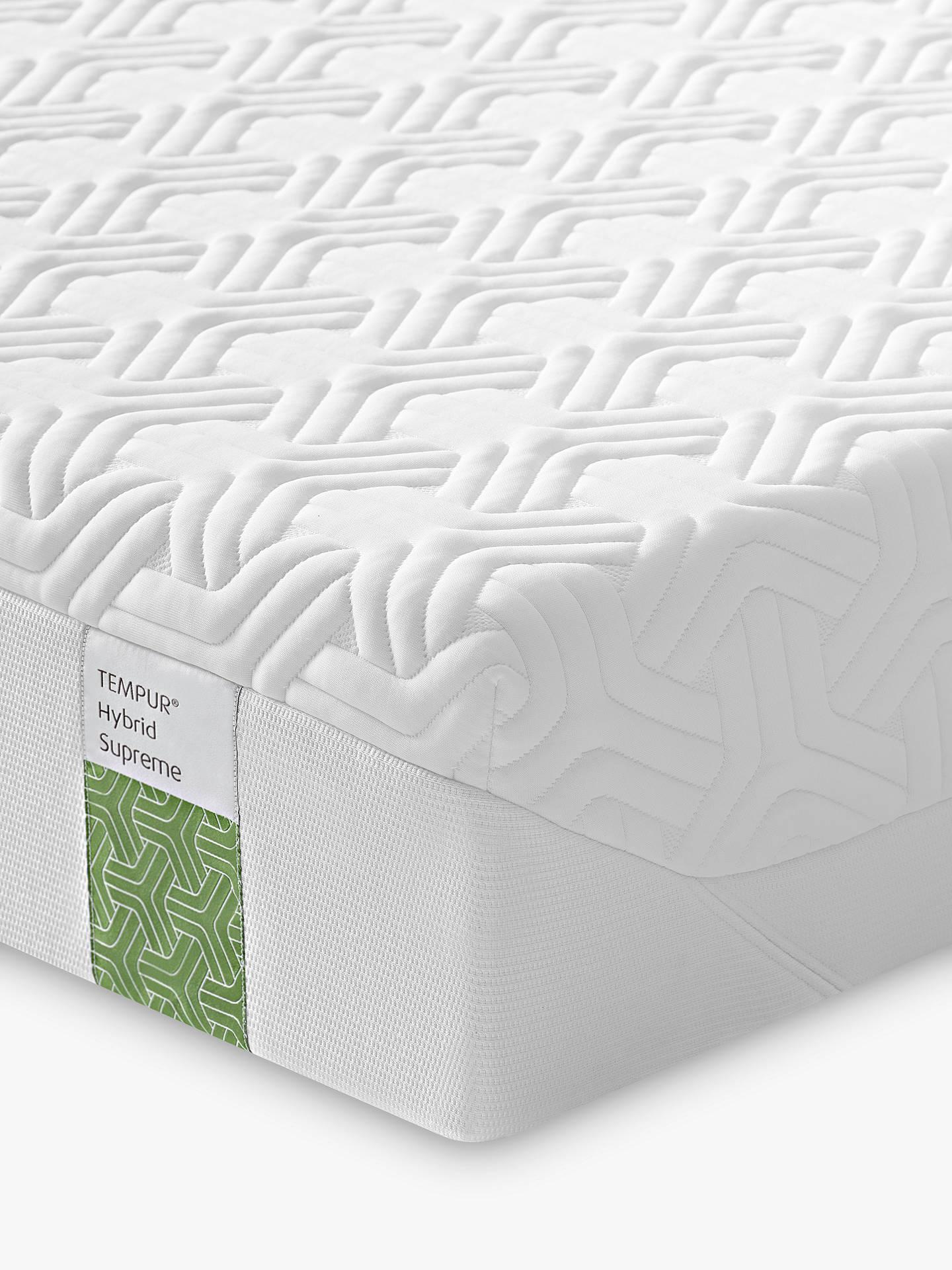 info for d84b5 8f42f Tempur Hybrid Supreme 21 Pocket Spring Memory Foam Mattress, Medium, Super  King Size