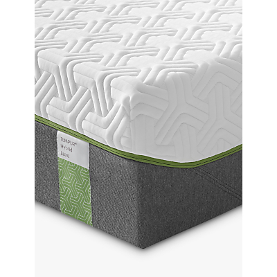 Tempur Hybrid Luxe 30 Pocket Spring Memory Foam Mattress, Medium, Single