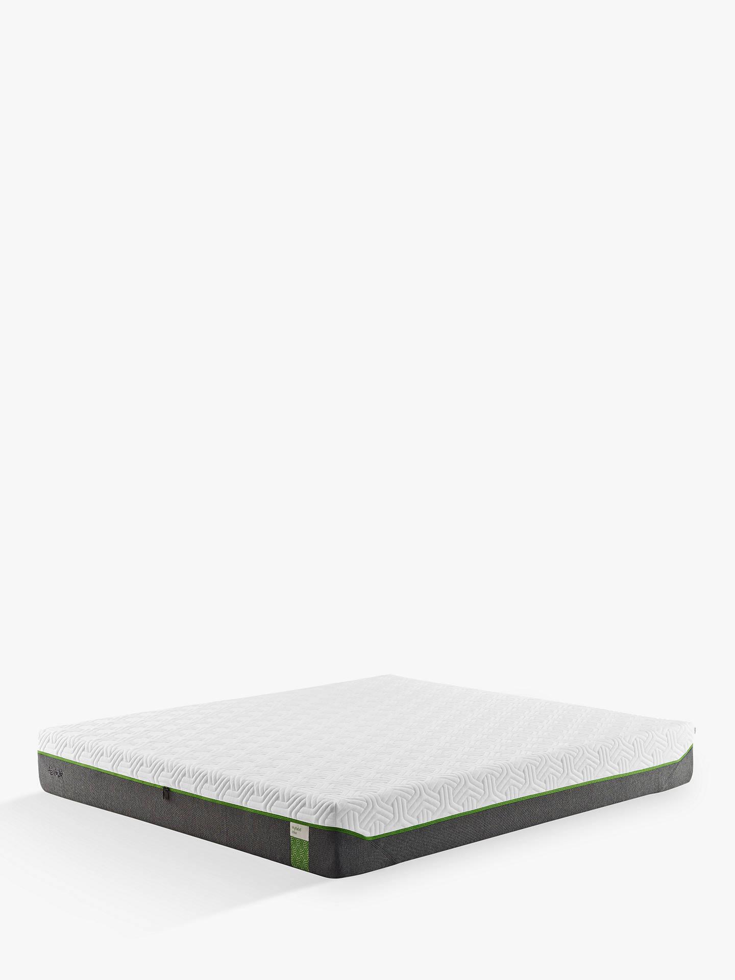free shipping 5115f 8245f Tempur Hybrid Elite 25 Pocket Spring Memory Foam Mattress, Medium, Small  Double