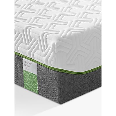 Tempur Hybrid Elite 25 Pocket Spring Memory Foam Mattress, Medium, Double