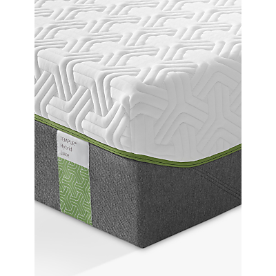 Tempur Hybrid Luxe 30 Pocket Spring Memory Foam Mattress, Medium, Super King Size
