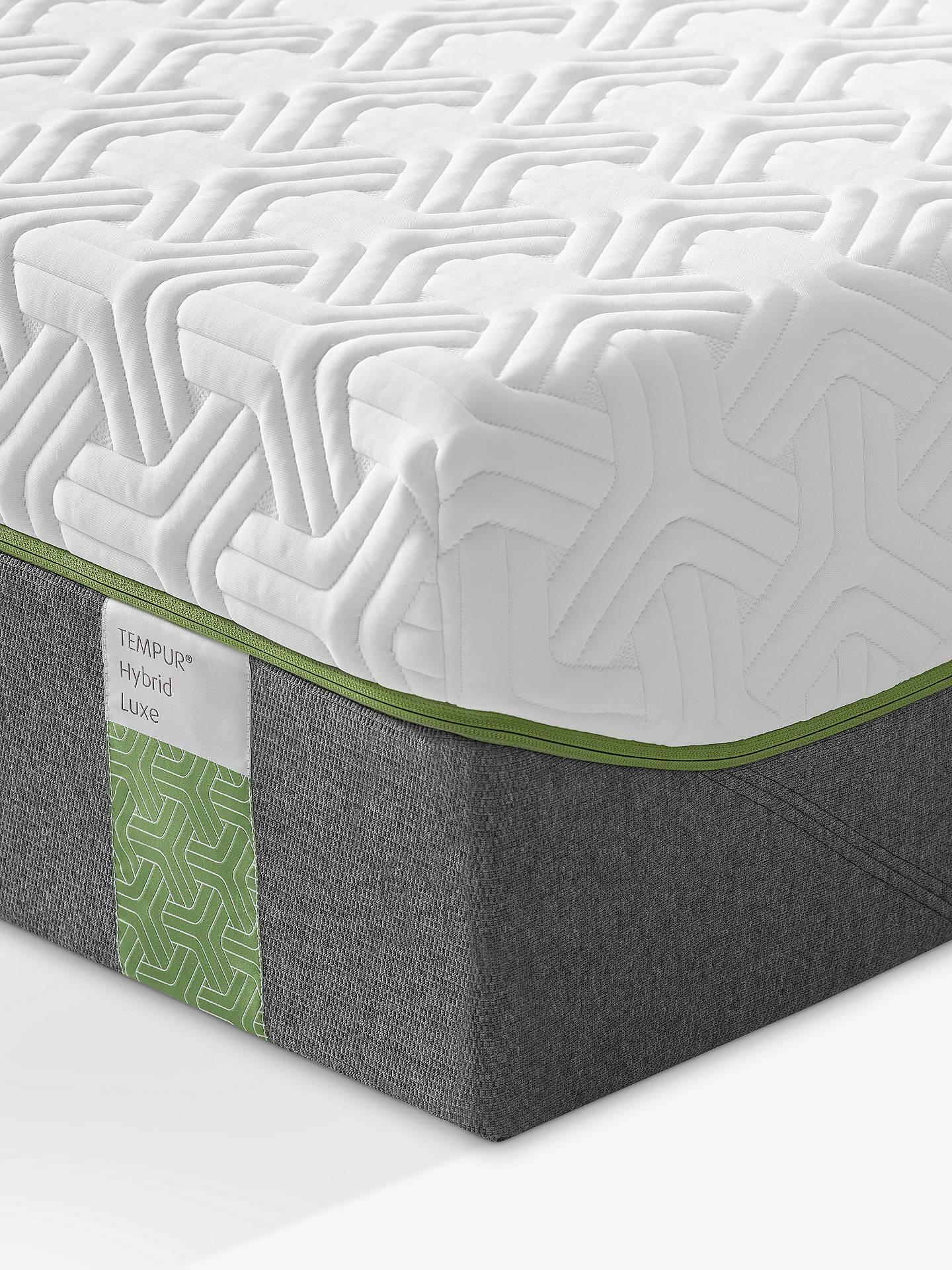 Tempur Hybrid Luxe 30 Pocket Spring Memory Foam Mattress Medium