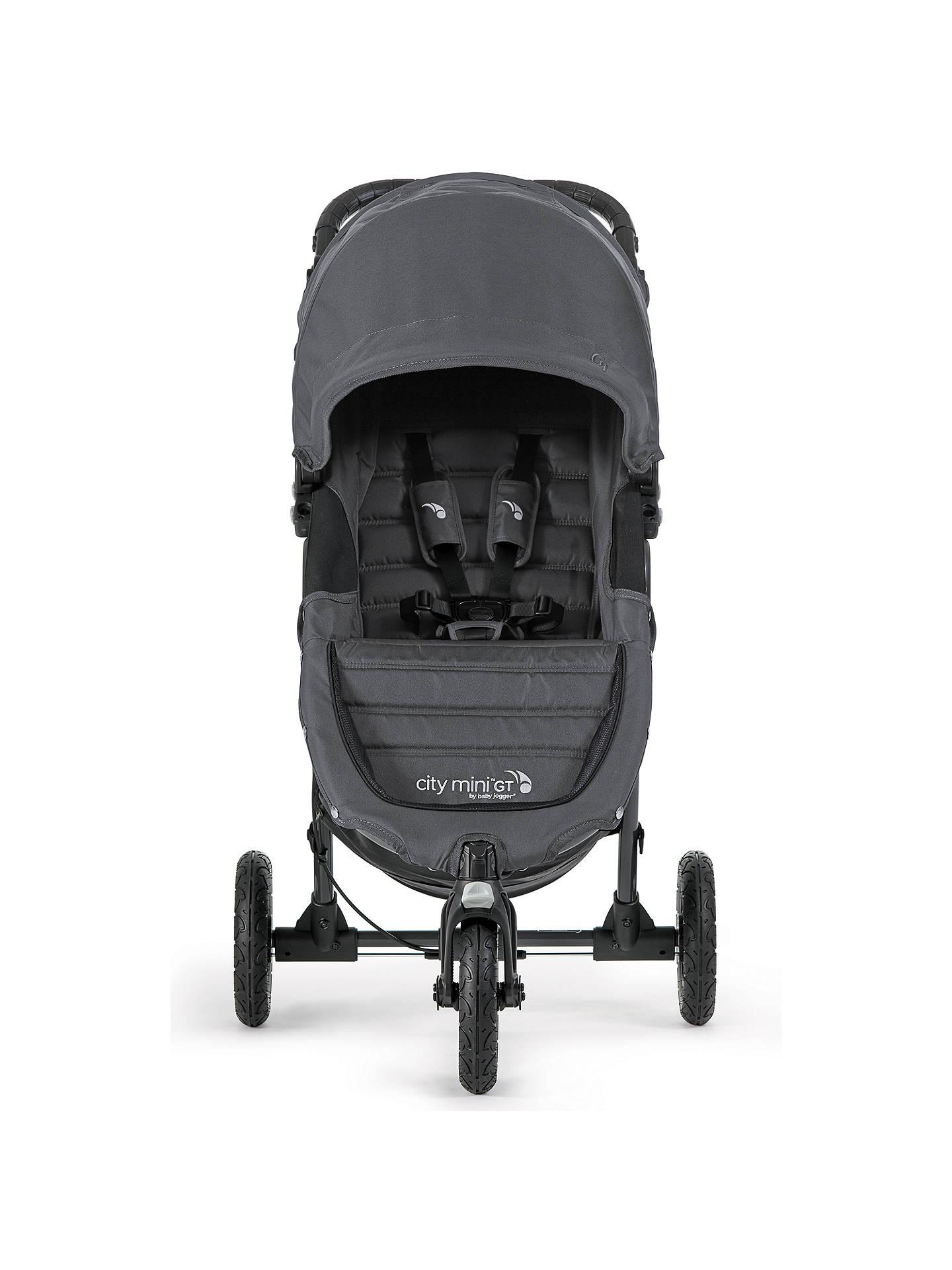 Baby Jogger City Mini GT Pushchair, Charcoal Denim