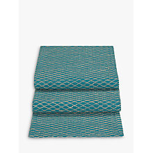 Buy John Lewis Fusion Asian East Table Runner, Teal Online at johnlewis.com