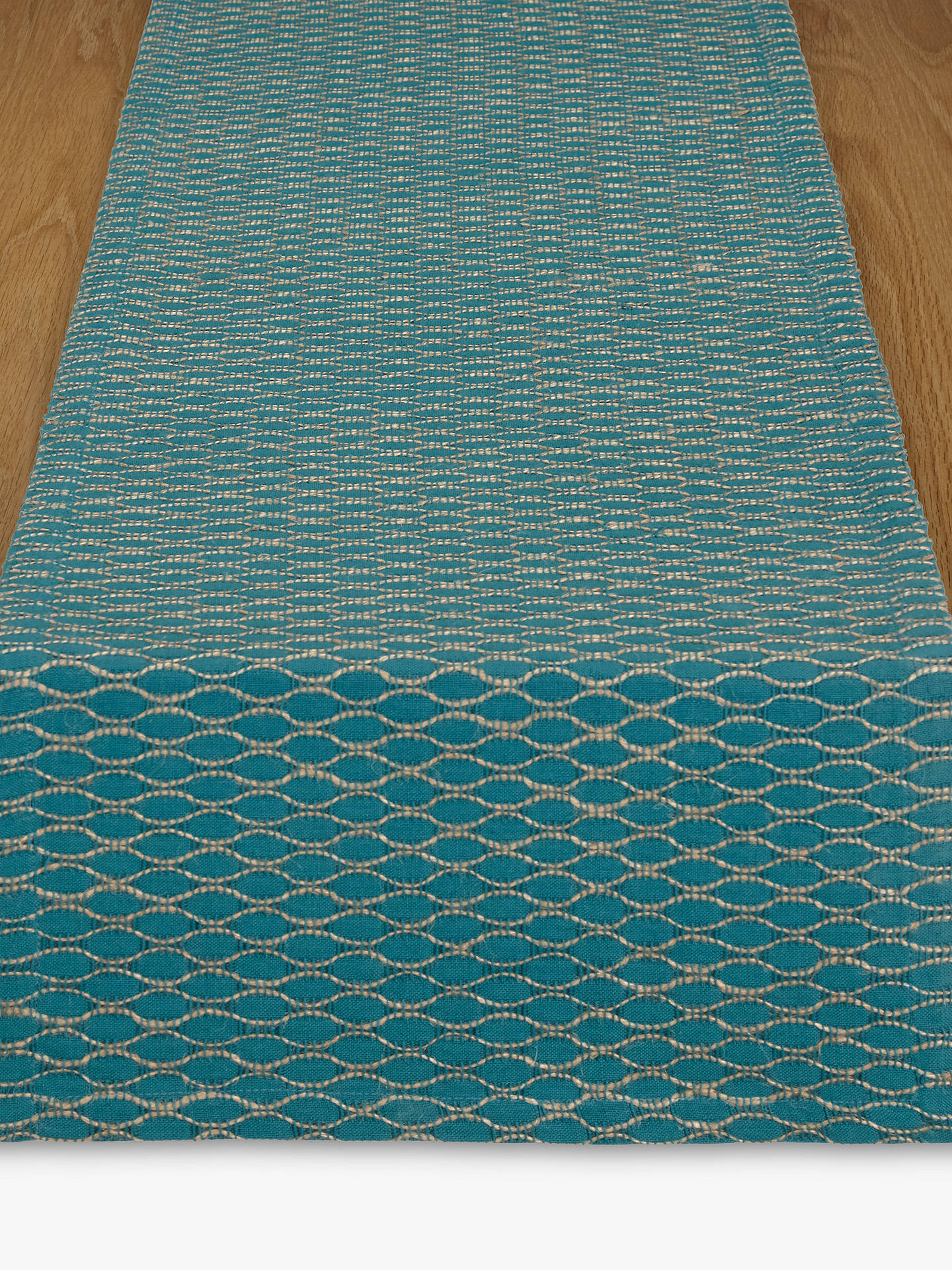 BuyJohn Lewis & Partners Fusion Asian East Table Runner, Teal Online at johnlewis.com