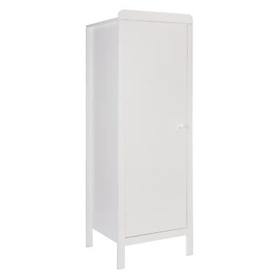 John Lewis & Partners Alex Single Wardrobe, Solid White