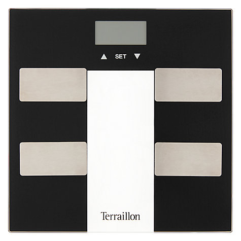 Terraillon Black Bathroom Yser Scale John Lewis