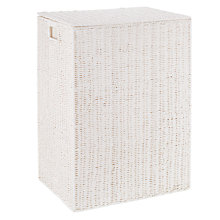 Buy John Lewis Paper Rope Double Laundry Basket Online at johnlewis.com